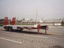 华骏牌ZCZ9260TD型低平板半挂车