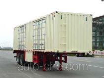 Huajun ZCZ9333XXY box body van trailer