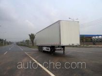 Huajun ZCZ9336XXY box body van trailer