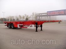Huajun ZCZ9350TJZHJB container transport trailer