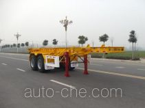 Huajun ZCZ9350TJZHJD container transport trailer