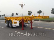 Huajun ZCZ9351TJZ container transport trailer