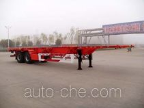 Huajun ZCZ9353TJZ container transport trailer