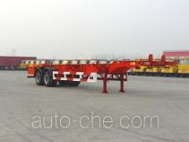 Huajun ZCZ9356TJZ container transport trailer