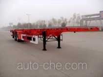 Huajun ZCZ9358TJZ container transport trailer