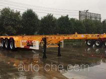 华骏牌ZCZ9359TJZHJG型集装箱运输半挂车