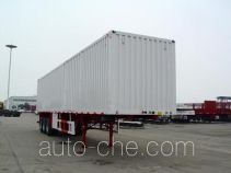 Huajun ZCZ9360XXYL box body van trailer