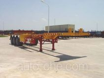 Huajun ZCZ9372TJZ container transport trailer