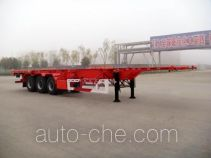 Huajun ZCZ9374TJZHJC container transport trailer