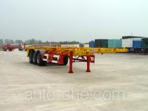 Huajun ZCZ9377TJZ container transport trailer