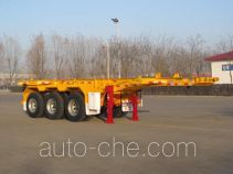 Huajun ZCZ9380TJZHJE container transport trailer