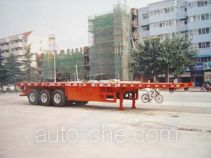 Huajun ZCZ9380TJZP container carrier vehicle