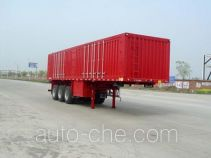 Huajun ZCZ9380XXY box body van trailer