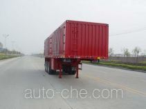 Huajun ZCZ9381XXY box body van trailer