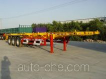 Huajun ZCZ9390TJZ container transport trailer