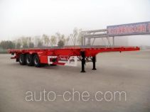 Huajun ZCZ9392TJZ container transport trailer
