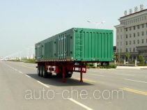 Huajun ZCZ9393XXY box body van trailer