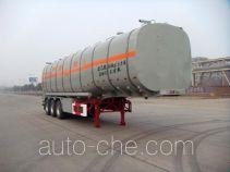 华骏牌ZCZ9400GHYHJB型化工液体运输半挂车