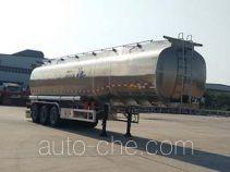 华骏牌ZCZ9400GSYHJG型铝合金食用油运输半挂车