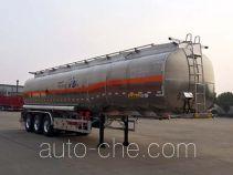Huajun ZCZ9400GYYHJG aluminium oil tank trailer
