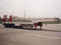 华骏牌ZCZ9400TD型低平板半挂车