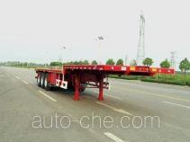 华骏牌ZCZ9400TPBHJD型平板运输半挂车