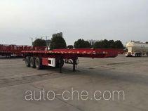 华骏牌ZCZ9400ZZXPHJG型平板自卸半挂车