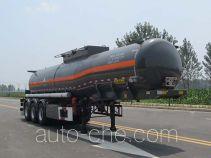 华骏牌ZCZ9401GFWHJG型腐蚀性物品罐式运输半挂车