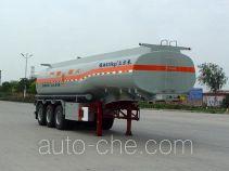 华骏牌ZCZ9401GHYHJB型易燃液体罐式运输半挂车