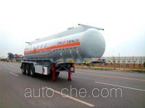 华骏牌ZCZ9401GRYHJC型易燃液体罐式运输半挂车