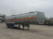 Huajun ZCZ9401GRYHJF flammable liquid tank trailer