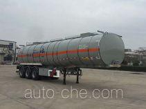 华骏牌ZCZ9401GRYHJF型易燃液体罐式运输半挂车