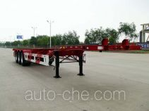 Huajun ZCZ9401TJZHJA container transport trailer