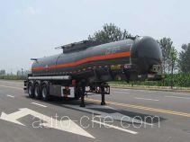 Huajun ZCZ9402GFWHJF corrosive materials transport tank trailer
