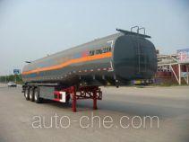 华骏牌ZCZ9402GRYHJB型易燃液体罐式运输半挂车