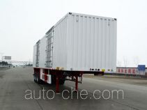 Huajun ZCZ9402XXYHJD box body van trailer