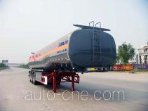 华骏牌ZCZ9403GRYHJC型易燃液体罐式运输半挂车