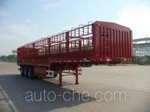Huajun ZCZ9406CLX stake trailer