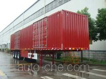 Huajun ZCZ9408XXY box body van trailer