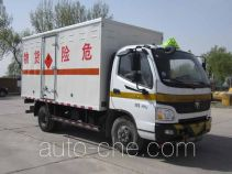 Fuqing Tianwang ZFQ5041XRQBJ flammable gas transport van truck