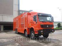 Luzhiyou ZHF5300THP mixing plant truck