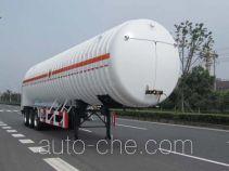 韩中深冷牌ZHJ9380GDY型低温液体运输半挂车