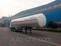 韩中深冷牌ZHJ9380GDYA型低温液体运输半挂车