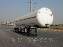 Hanzhong Cryogenic ZHJ9400GDYN cryogenic liquid tank semi-trailer