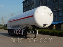 Hanzhong Cryogenic ZHJ9408GDYA cryogenic liquid tank semi-trailer