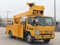 Hailong Jite ZHL5090JGK17 aerial work platform truck