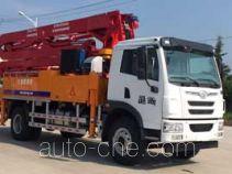 海隆吉特牌ZHL5181THB型混凝土泵车