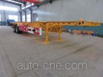 Hailong Jite ZHL9350TJZ container transport trailer