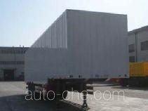 Hailong Jite ZHL9400XXY box body van trailer