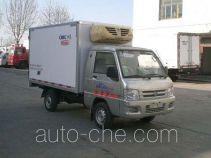 中集牌ZJV5030XLCSD型冷藏车